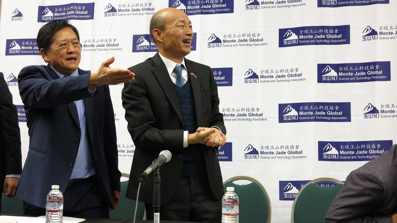 高雄市長韓國瑜訪美9天行程接近尾聲,美西時間16日下午與媒體座談時,韓談到,台灣...