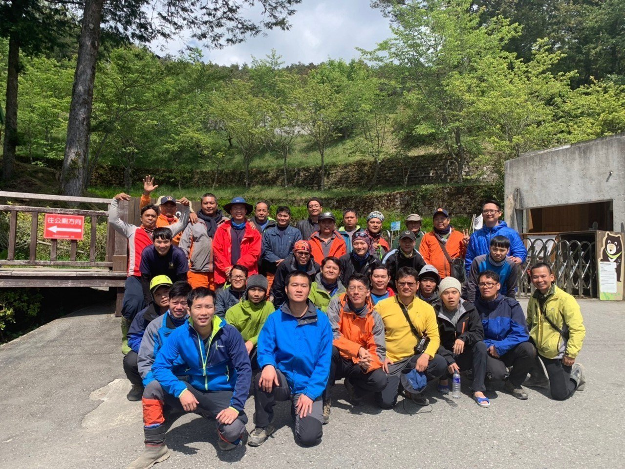 關山消防大隊30名隊員完成3天高山救援訓練後,都留下寶貴經驗。圖/關山大隊提供