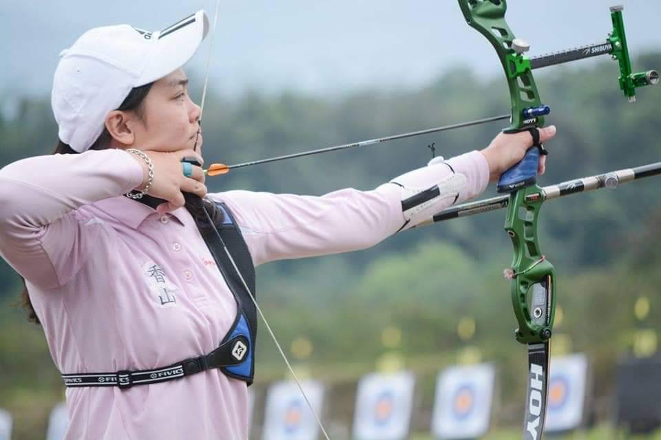 陽亞蓉首次入選為國家代表隊選手。圖/教育處提供