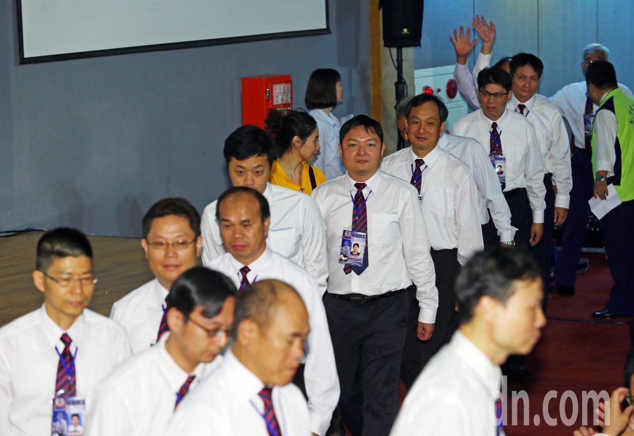 台鐵今天上午舉行模範勞工表揚大會,總共表揚66位模範勞工。記者杜建重/攝影
