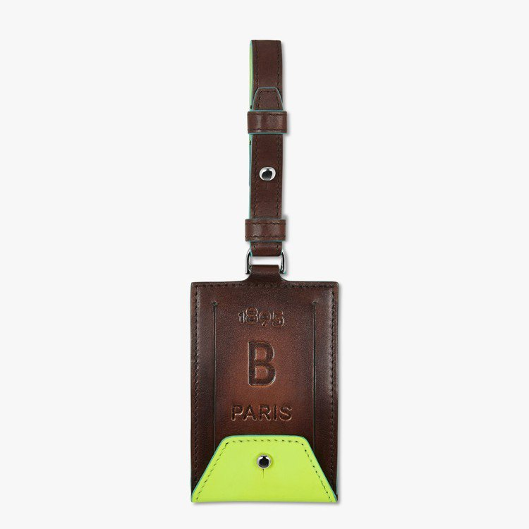 Berluti沙灘系列包袋吊牌12,000元。圖/Berluti提供