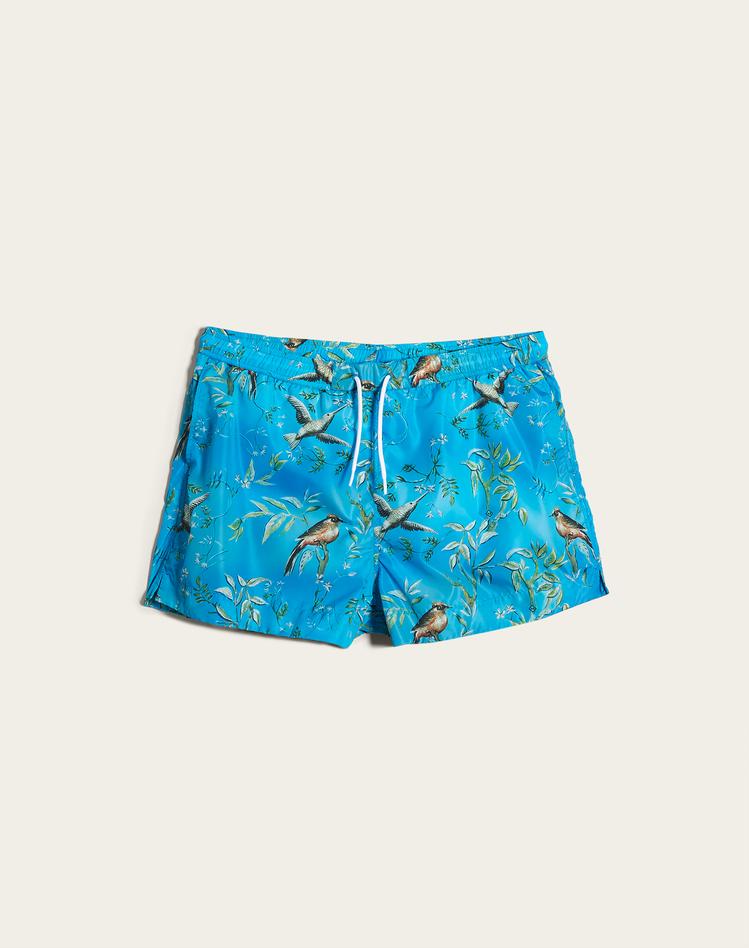 Aquarium迷你限量系列海灘褲,價格店洽。圖/dunhill提供