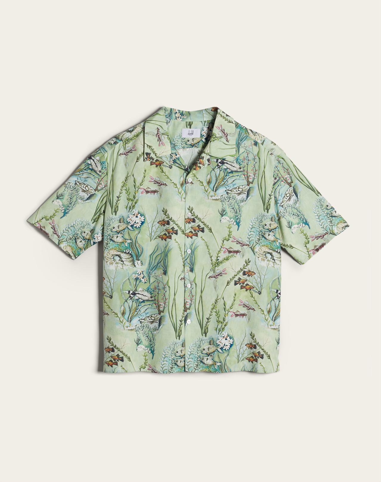 Aquarium迷你限量系列休閒襯衫,價格店洽。圖/dunhill提供