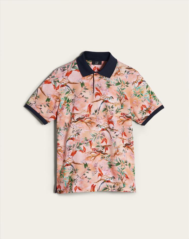 Aquarium迷你限量系列Polo衫,價格店洽。圖/dunhill提供