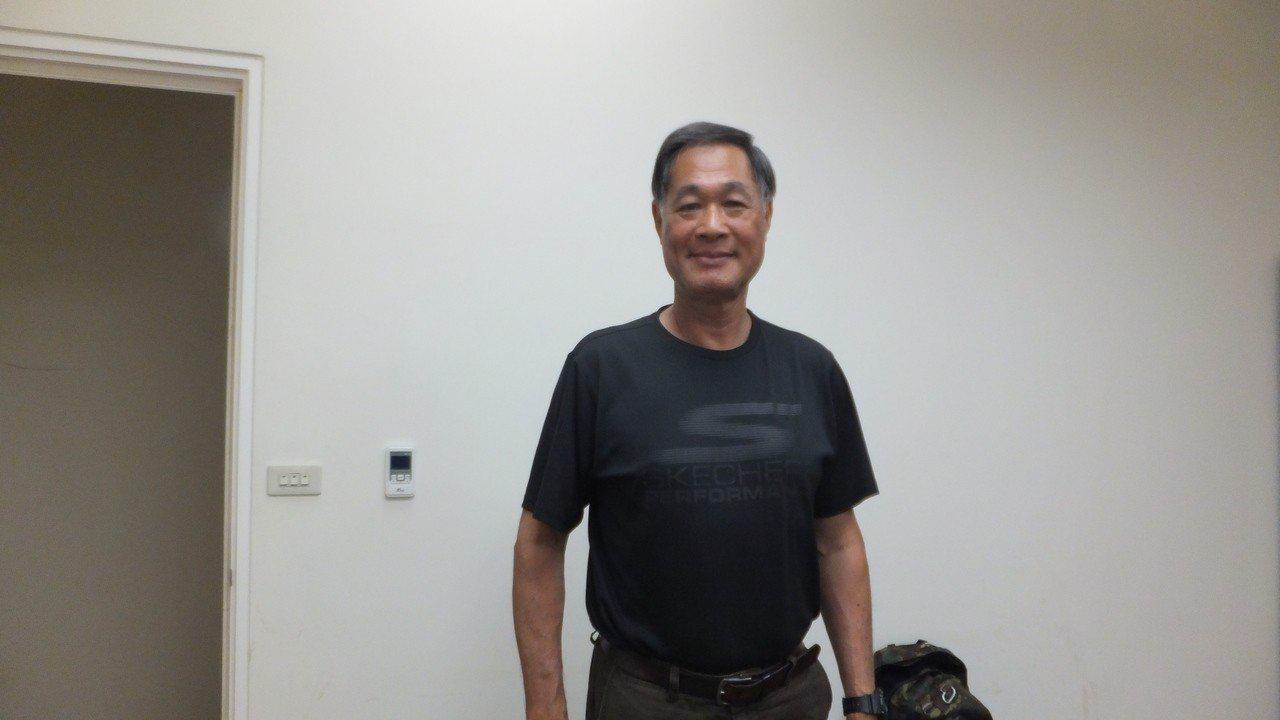台北市立大學棒球隊總教練高英傑認為,王柏融會愈來愈好。記者藍宗標/攝影