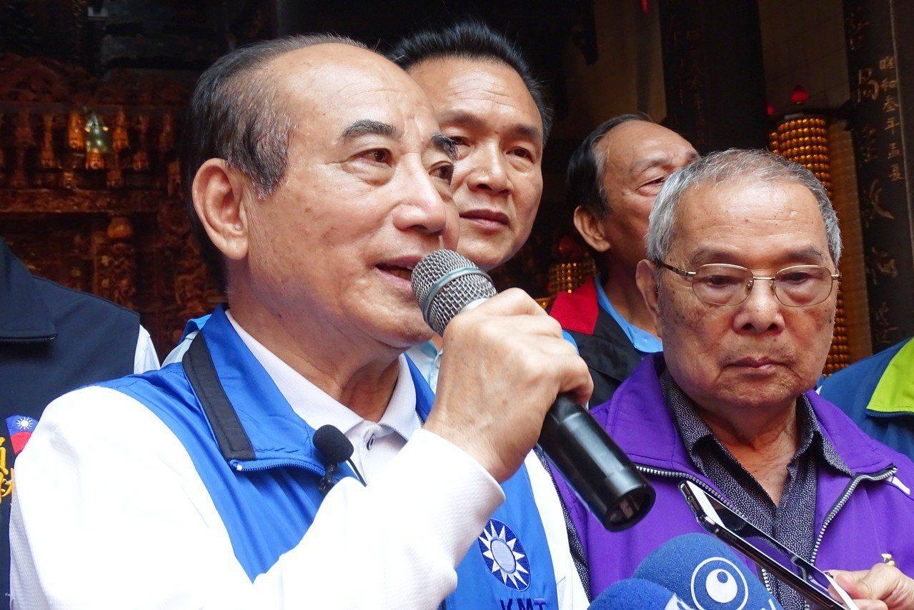 立法院前院長王金平。聯合報系記者何烱榮/攝影