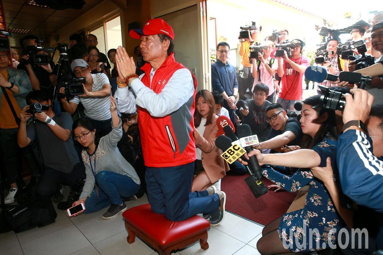 鴻海董事長郭台銘可能參與2020年總統選舉。記者黃義書/攝影