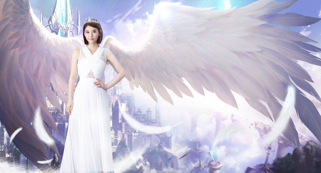 王樂妍代言手遊。圖/易亨數位行銷提供