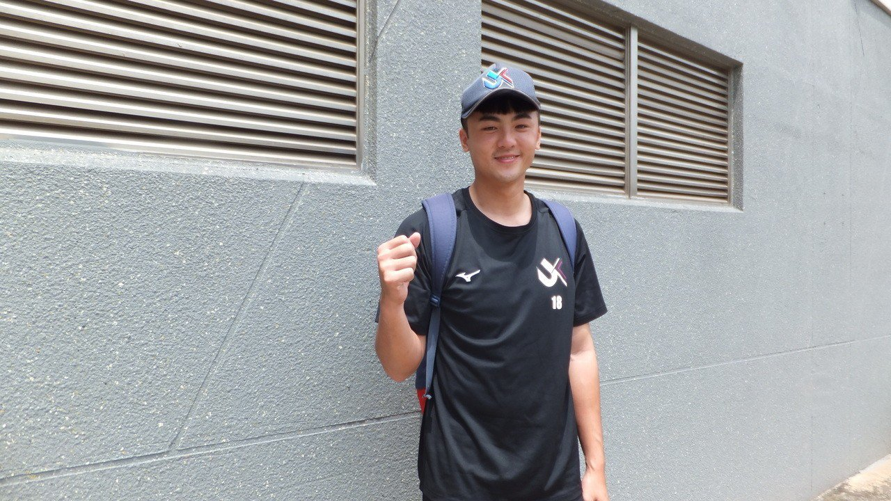 台北市立大學投手陳駿宏奪下春季聯賽首勝。記者藍宗標/攝影