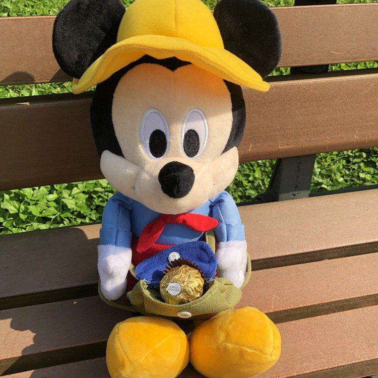 7-ELEVEN「迪士尼夢幻露營」第二波野餐系列限量露營限定版米奇系列絨毛玩偶,...