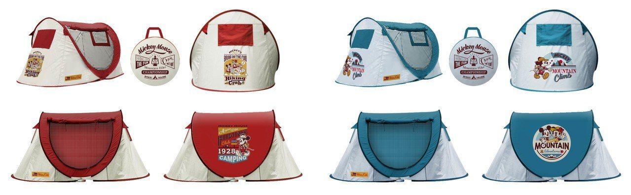 7-ELEVEN「迪士尼夢幻露營」限量速開雙人帳篷,4月24日下午3點起集滿6點...