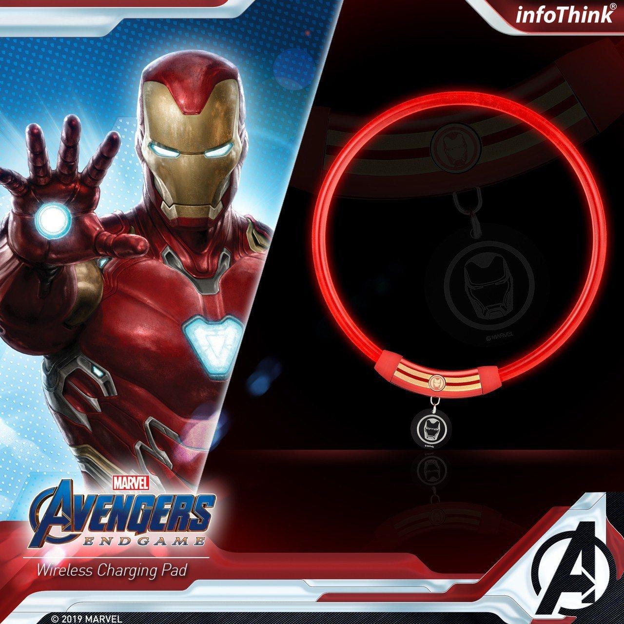 7-ELEVEN將於4月24日起獨家搶先開賣復仇者聯盟系列LED燈環,鋼鐵人款售...