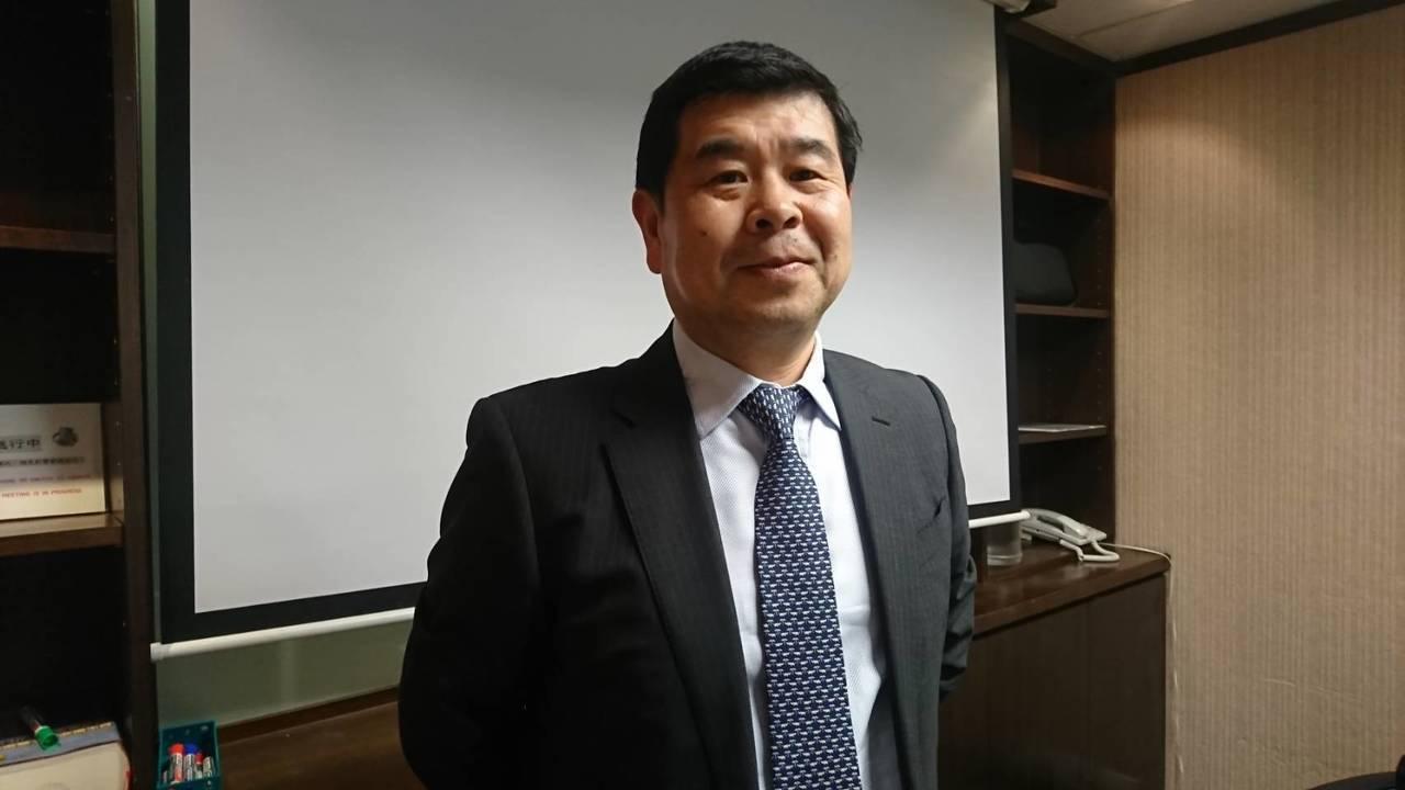 台灣日立電梯董事長金原慶武依舊認為本次永大股臨會不合理。記者黃淑惠/攝