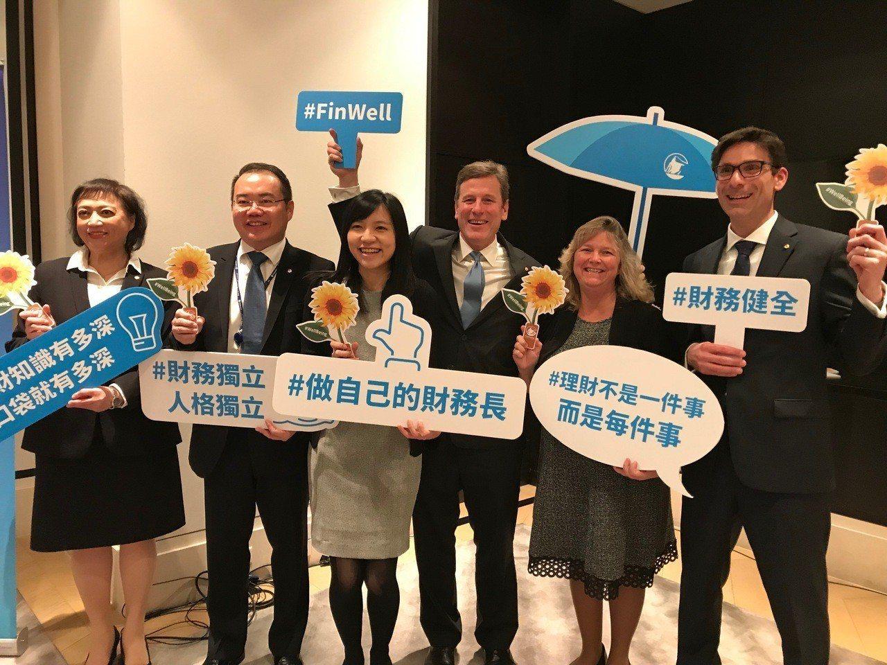 台灣保德信人壽17日舉行盛大記者會,宣布引進美國母集團的財務健全課程,將免費為國...