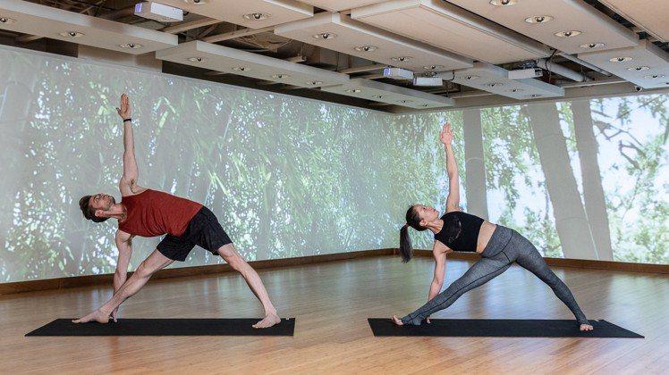 YOGA EDITION引進全台唯一4D情境式瑜珈。圖/YOGA EDITION...