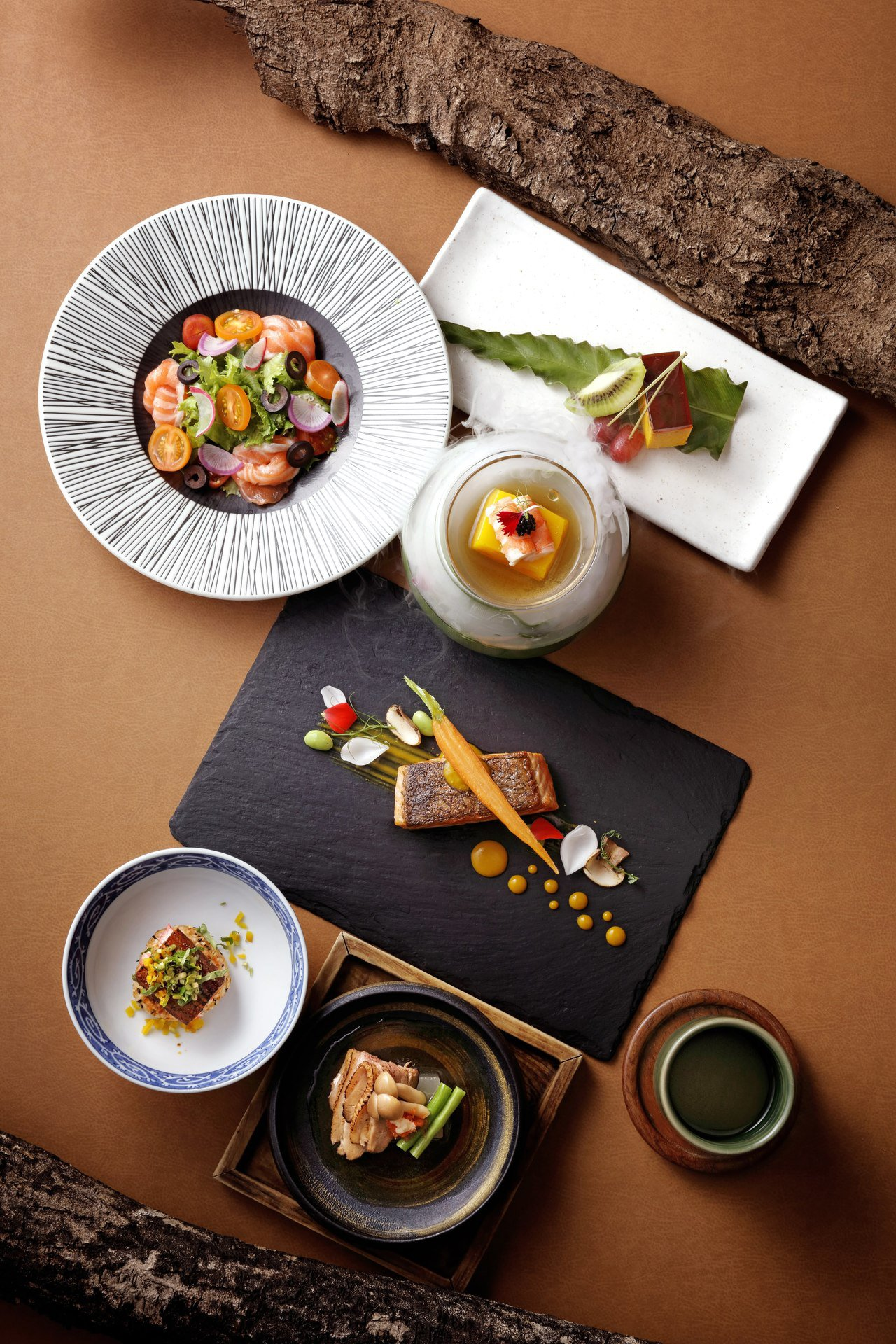 BELLAVITA同28日式料理,餐廳周午間限定套餐1,080+10%。圖/BE...