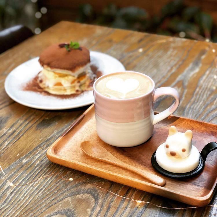 美味可愛的餐點療癒人心。圖/Labu café 提供
