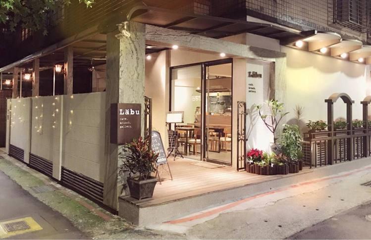 「Labu café」隱藏在東門站附近巷子內。圖/Labu café 提供