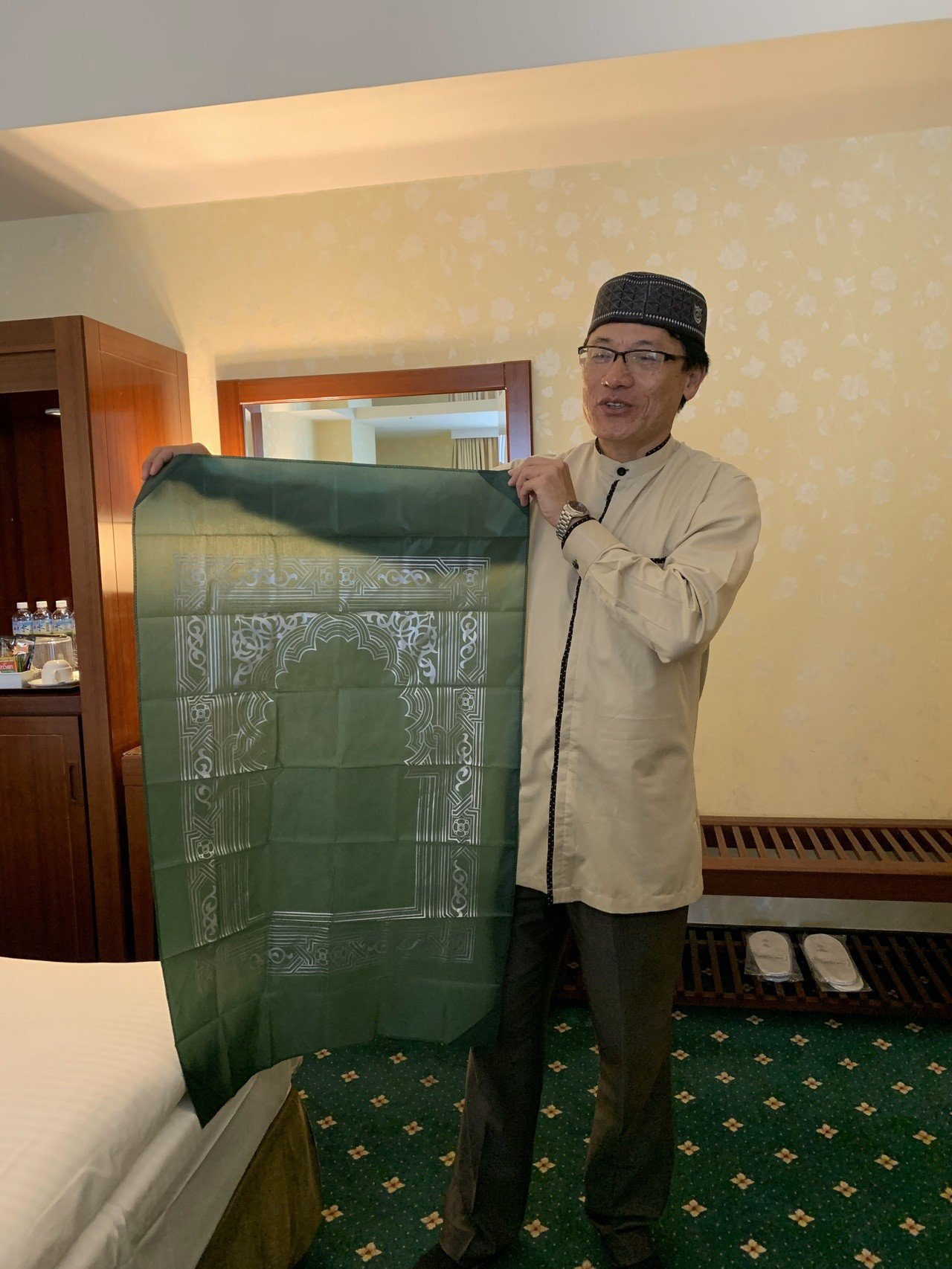 旅館房間有這些貼心服務,穆斯林會覺得友善。記者吳淑玲/攝影