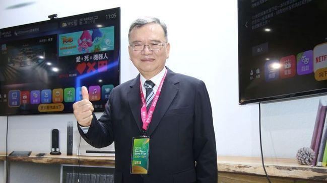 中華電信董事長鄭優。聯合報系資料照