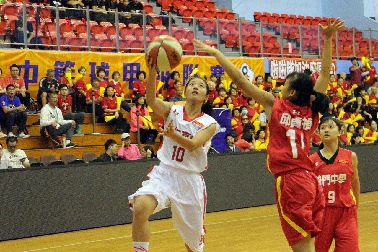 永仁林靜妍11分、6籃板。記者林宋以情/攝影