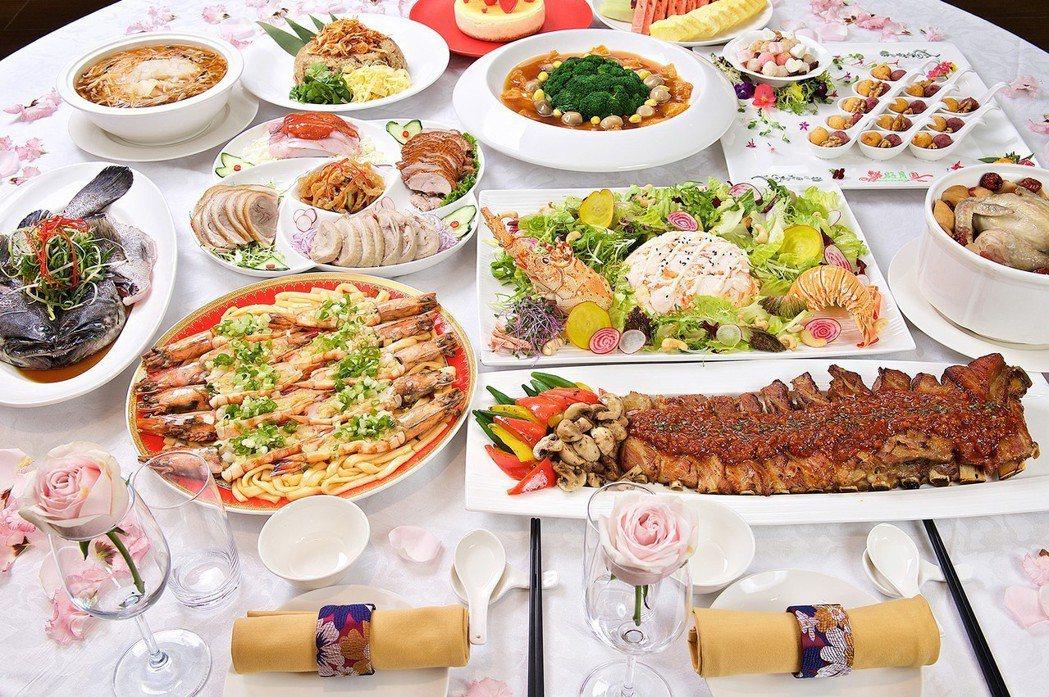 2019北投亞太婚宴菜色。