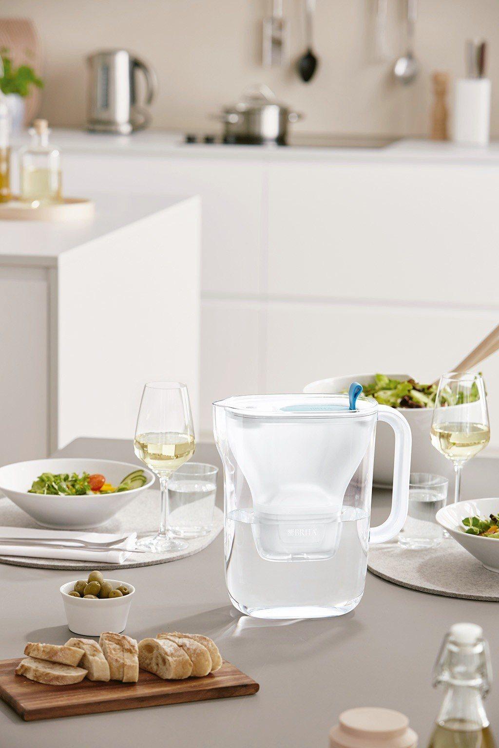 BRITA每個濾水壺生產過程的碳足跡(碳排放量)僅為等量瓶裝水的3.6%,光是2...