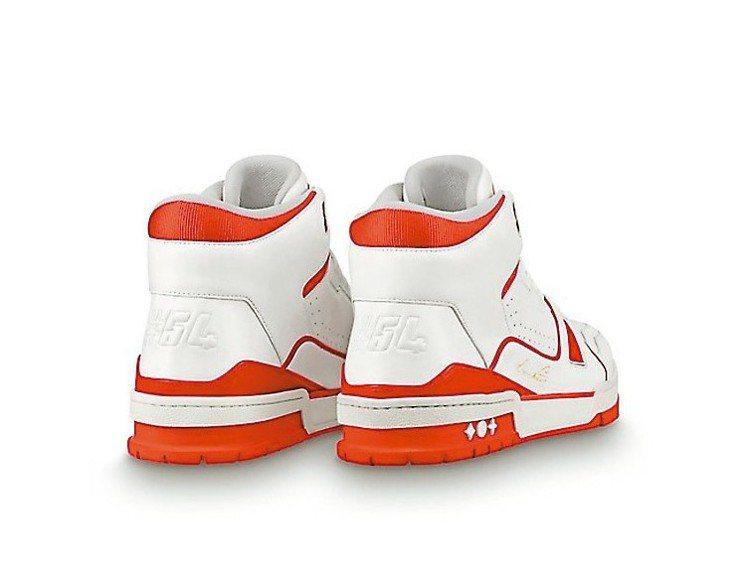 鞋後跟的「#54」代表品牌創立的1854年。 圖/摘自品牌官網