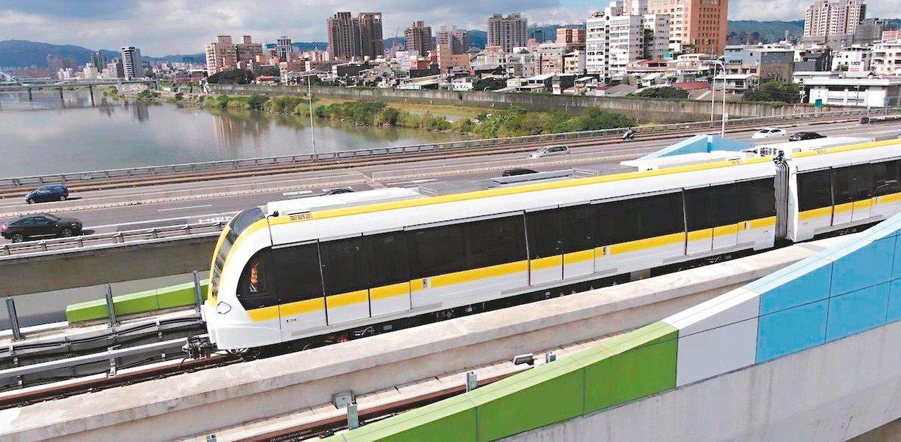 環狀線第一階段今年底將要完成,第二階段昨天也通過國發會審議。 圖/新北捷運局提供