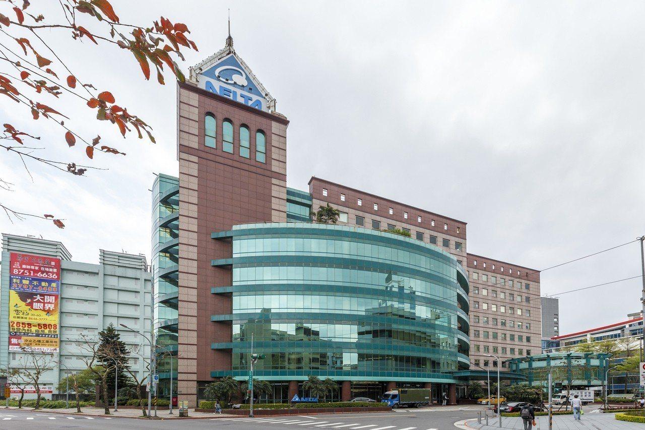 台達電子總部辦公大樓。 圖/台達電提供