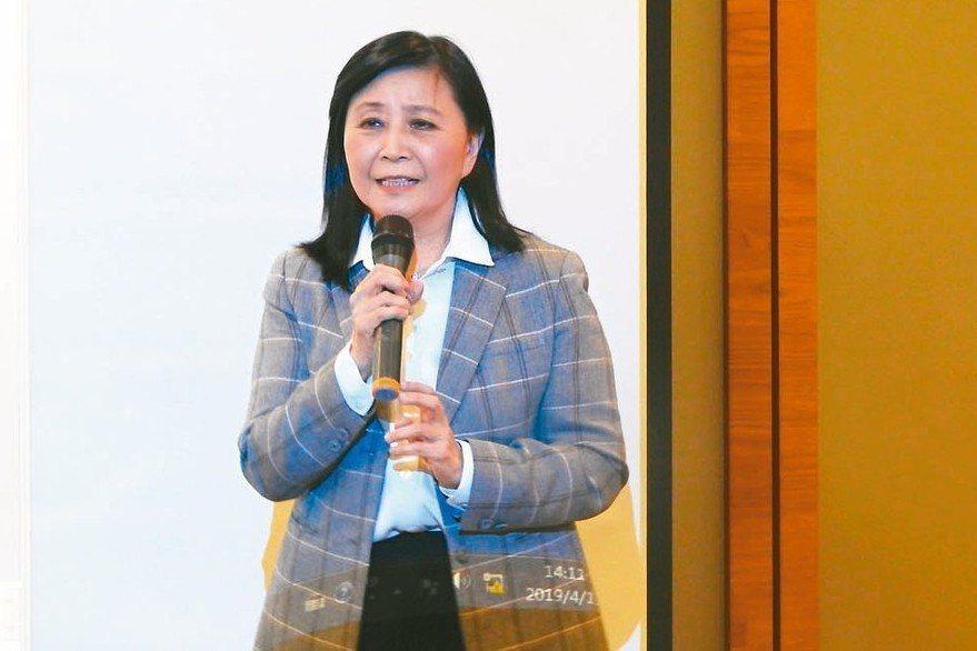 香港北威國際集團董事總經理劉憶如。 特派記者林宸誼/攝影