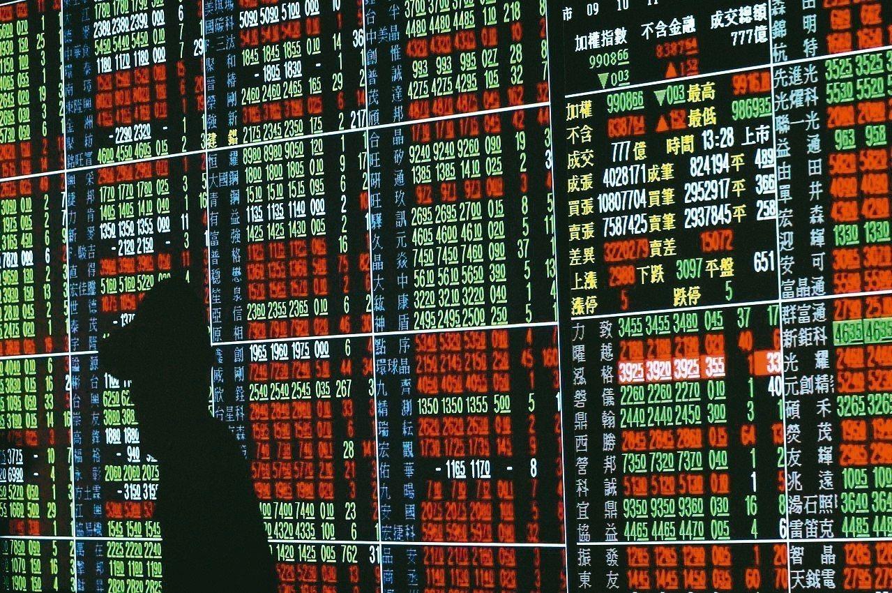 全球偏多氣氛、產業展望正向等利多支撐下,上周台股周線連2紅。 圖/聯合報系資料照...