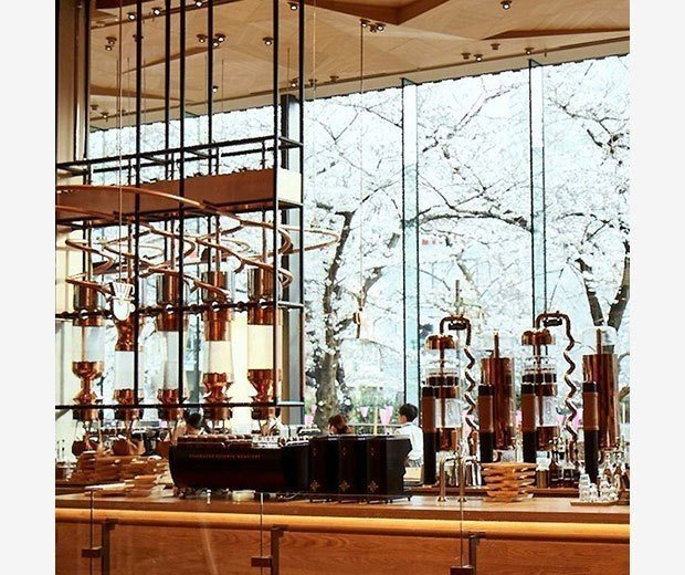 圖片來源:Starbucks Reserve Roastery Tokyo