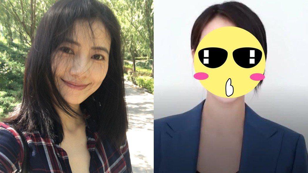 高圓圓懷孕後更年輕。圖/擷自weibo。
