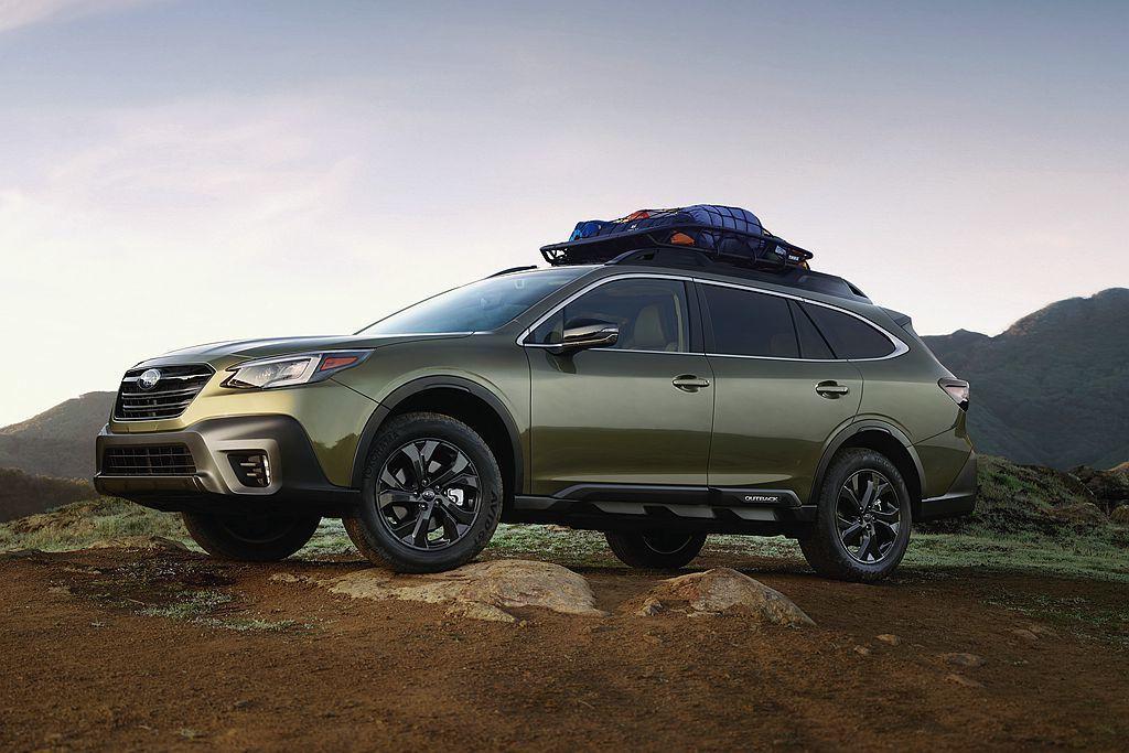 基於嶄新Subaru Global Platform模組化平台的新Outback...