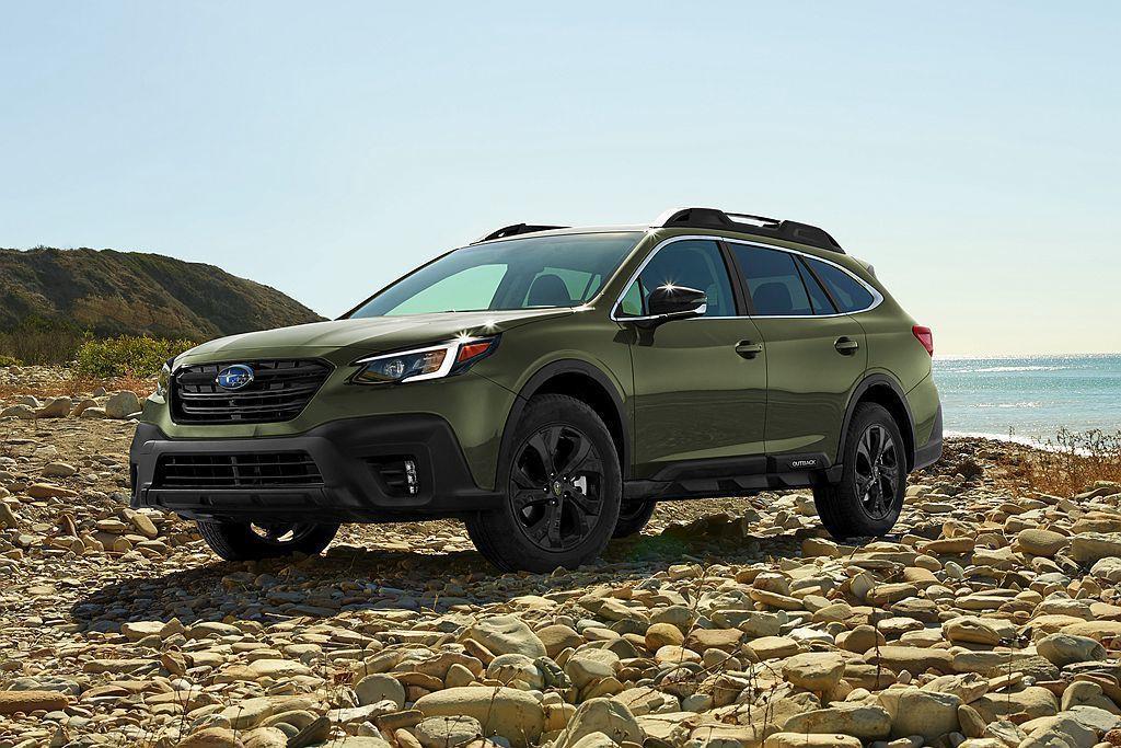 全新第六代Subaru Outback率先於美國紐約車展發表。 圖/Subaru...