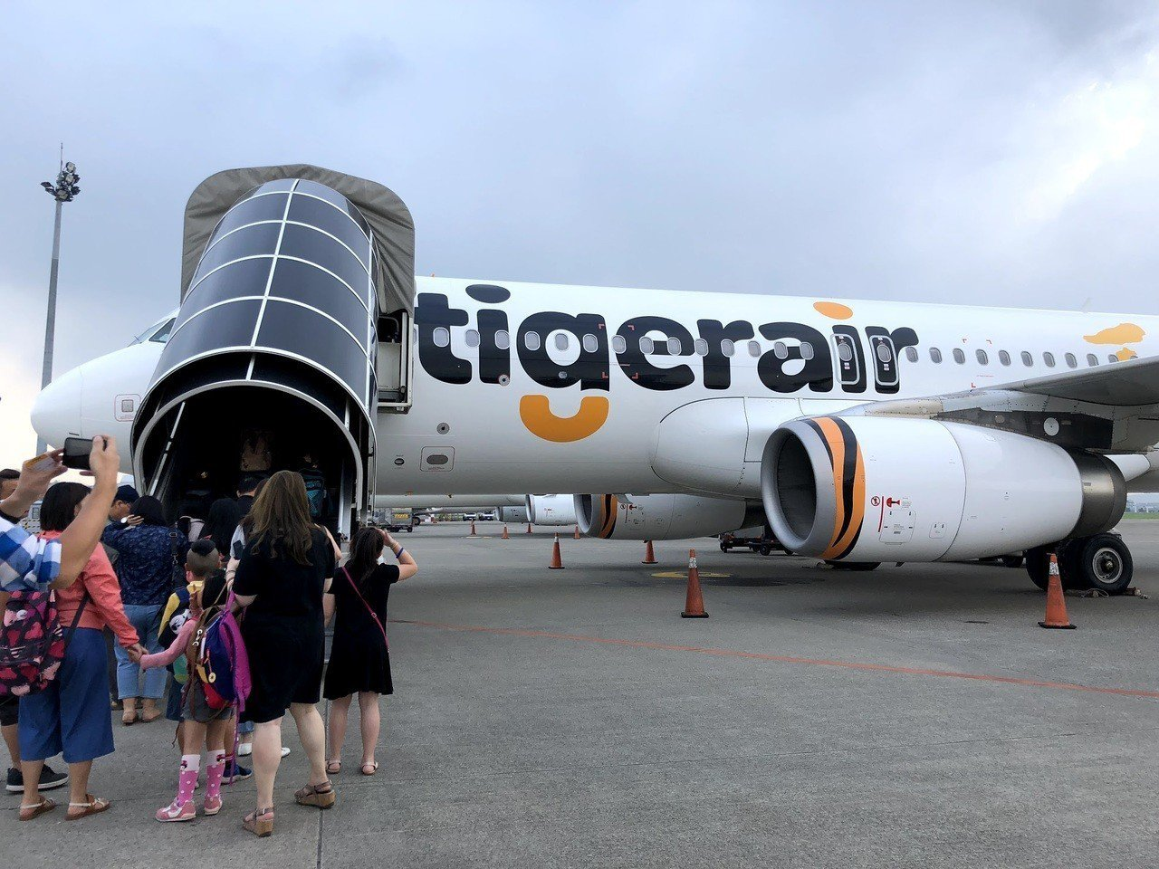 台灣虎航推出復活節限定優惠活動。記者魏妤庭/攝影