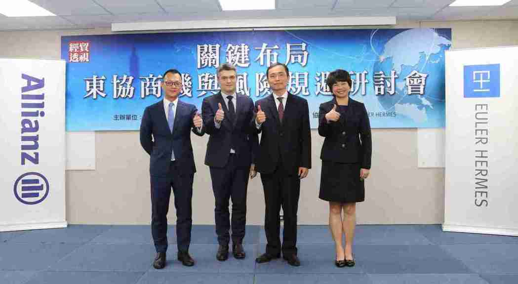 裕利安宜Mr. Vincent Kuo(左起)、Mr. Alexis Garat...