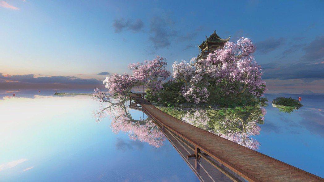 在這樣如畫中的美景遊歷,真是讓人感到身心舒暢。