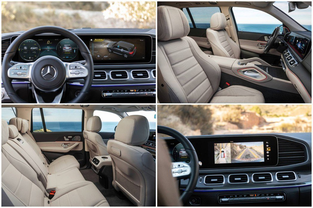 原廠表示,新世代Mercedes-Benz GLS的第三排座椅,即便是身高194...