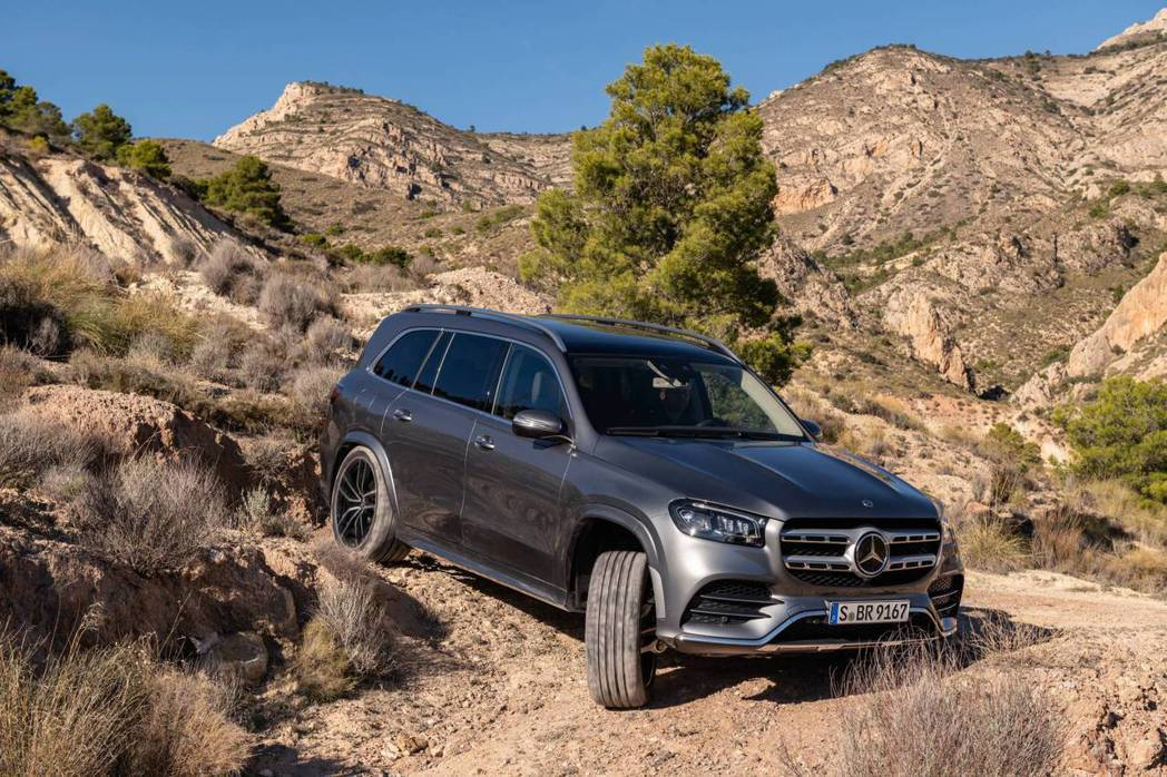 新世代Mercedes-Benz GLS 也有提供柴油動力。 摘自Mercede...
