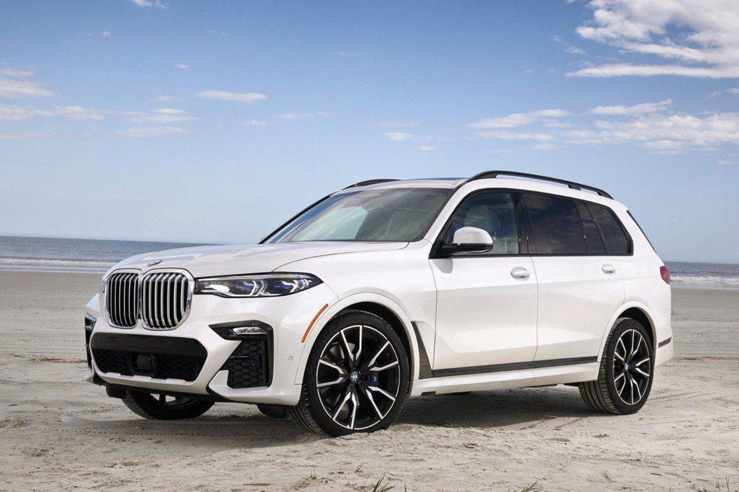 全新BMW X7目前已在美國市場販售。 摘自BMW
