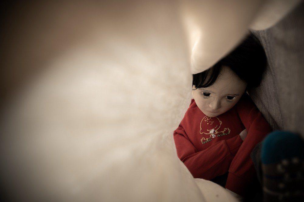 《黑色微光》改編真實的新聞事件,訴說一個小男孩的內心世界。(圖/攝影 鄭雅文)