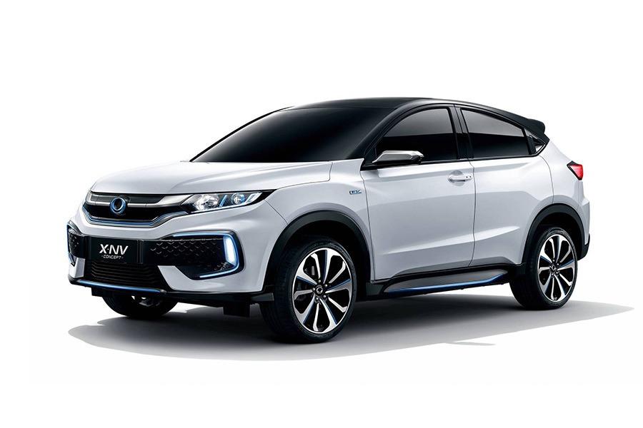 HR-V電動版? Honda X-NV概念車預告中國專屬新油電跨界休旅!