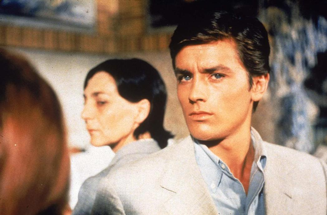 亞蘭德倫是法國影壇永遠的至尊男神。圖/摘自imdb