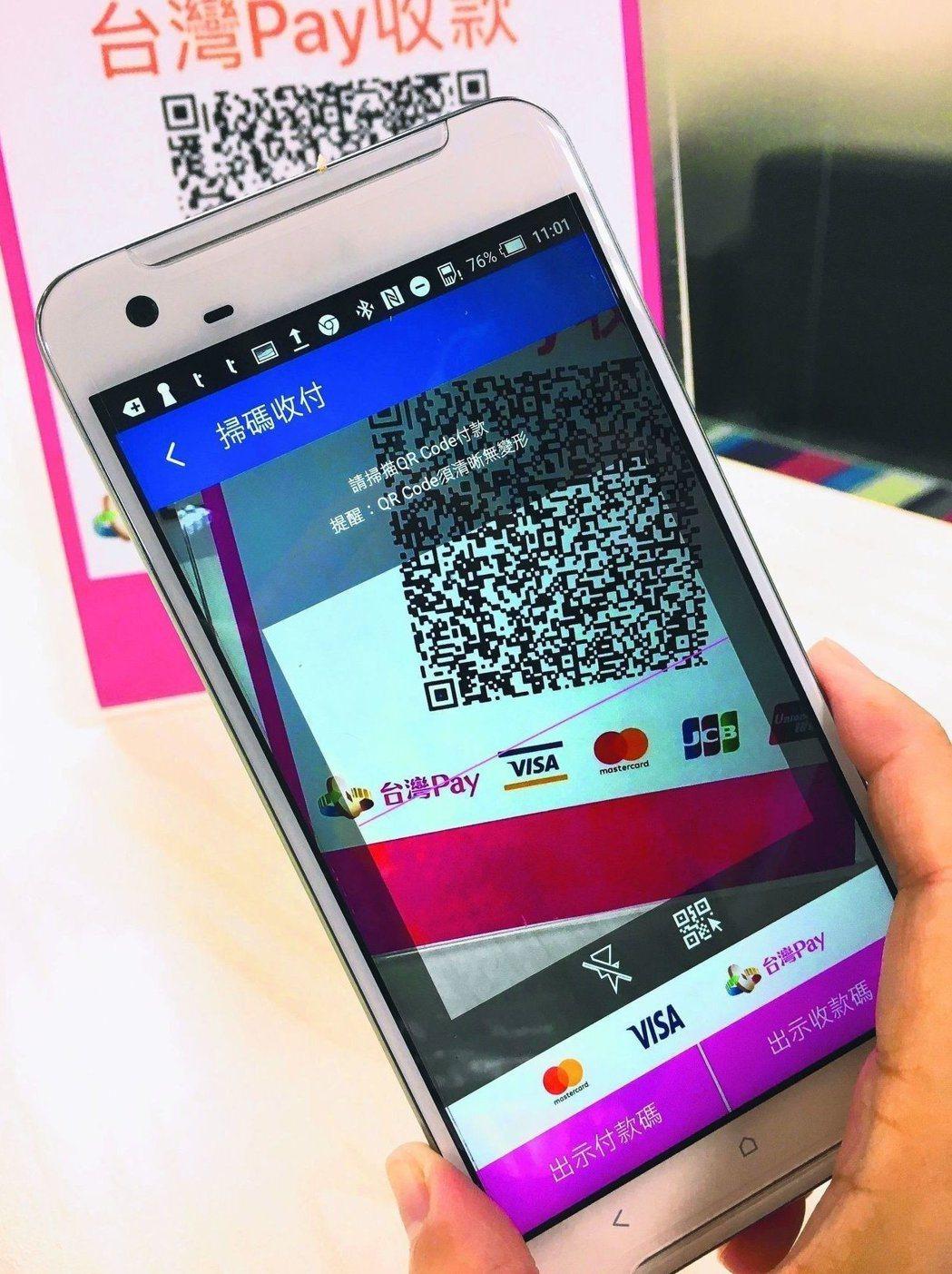 台灣Pay配合國人消費習性,已導入四大超商。圖/財金公司提供