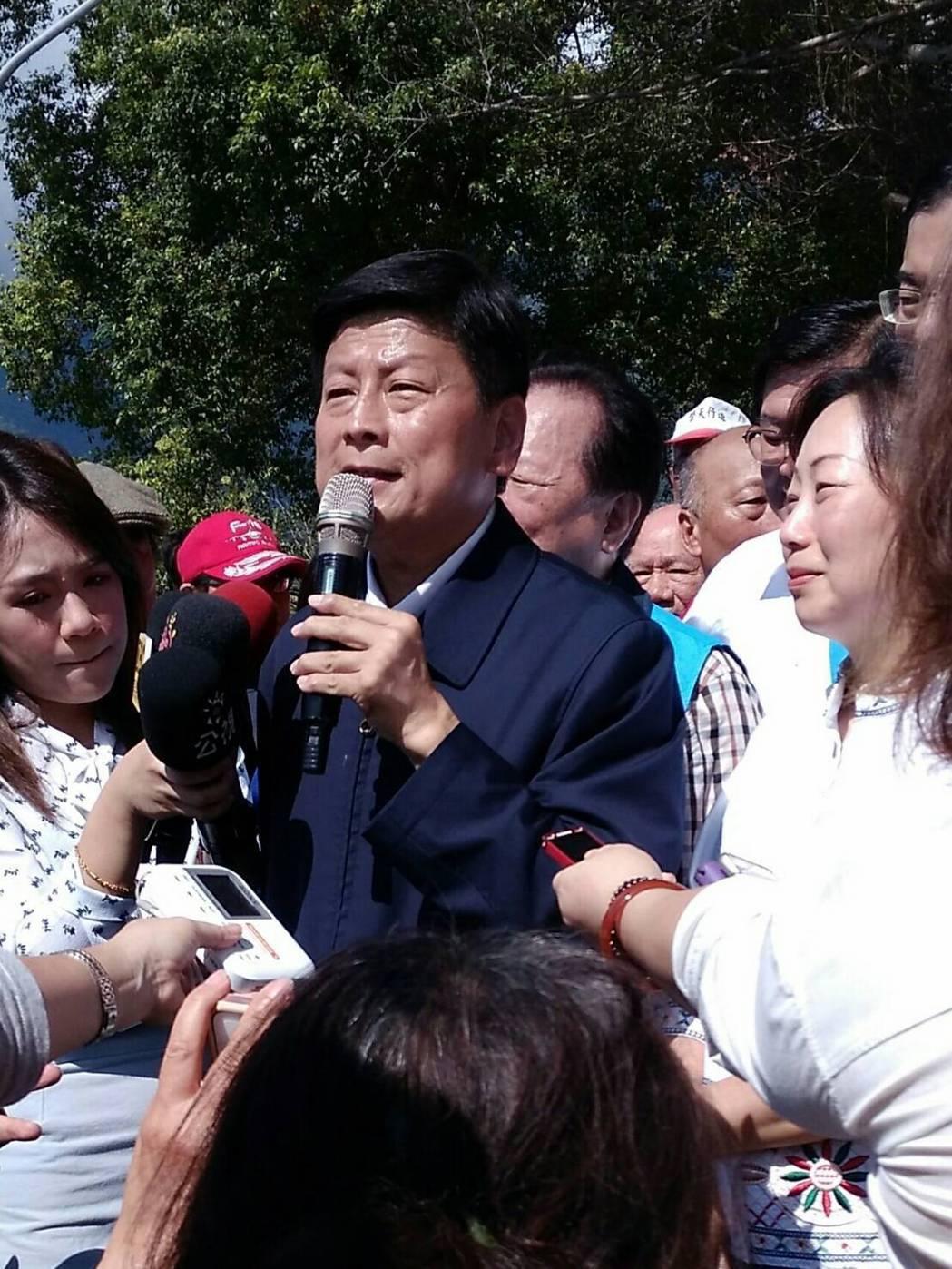 花蓮前縣長傅崐萁今天出獄,他接下來的每一步,都左右著地方政局。記者余衡/攝影