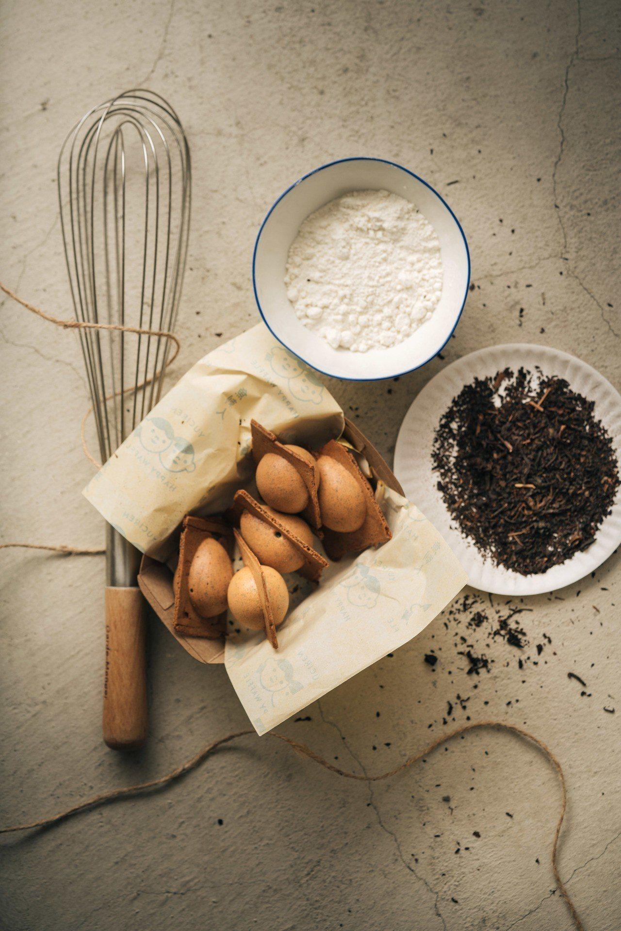 「魚刺人雞蛋糕」招牌阿薩姆口味最獲得網友推薦。圖/魚刺人雞蛋糕 提供