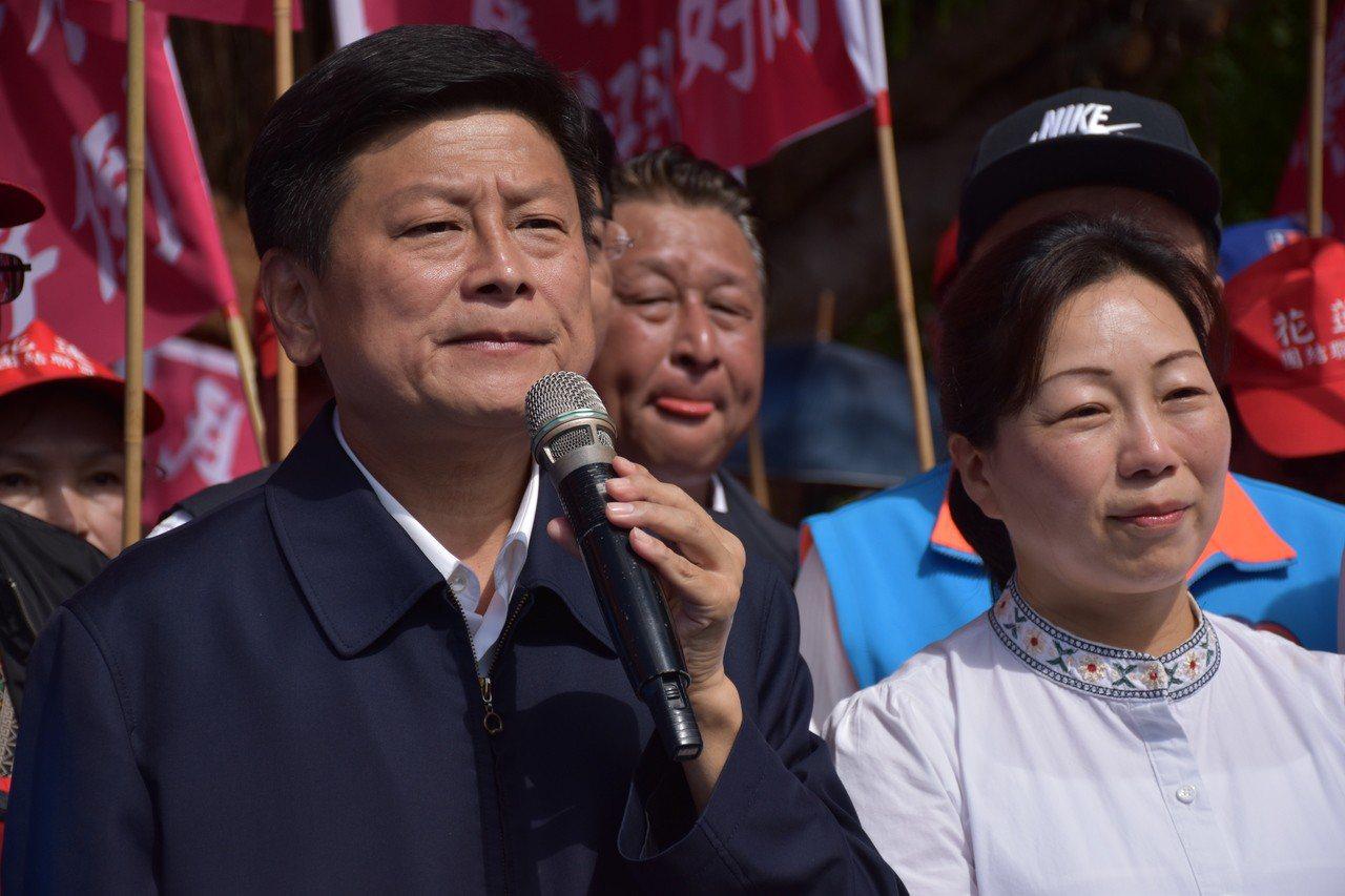 傅崐萁未鬆口參選立委。記者王思慧/攝影