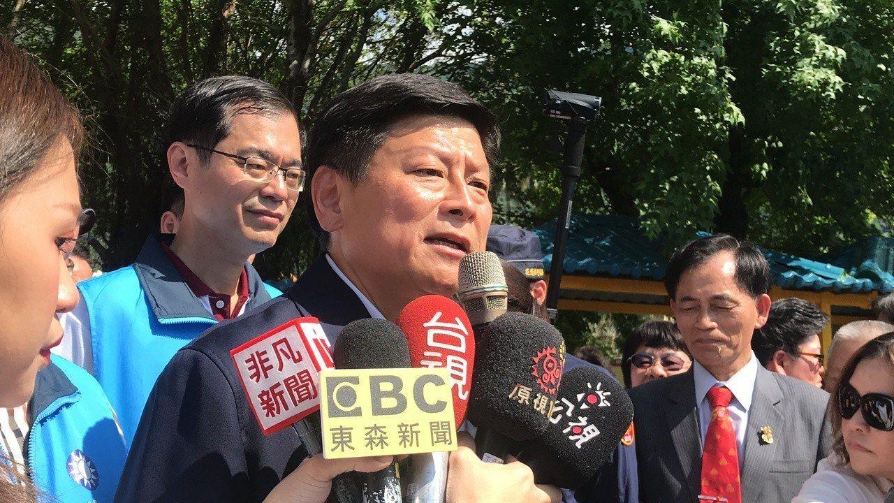 傅崐萁肯定國民黨多個太陽參選總統。記者王思慧/攝影